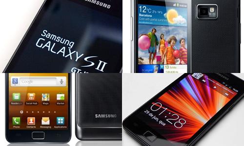 Les réparations  Samsung Galaxy S2 (i9100)