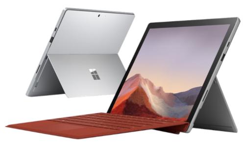 Les réparations  Microsoft Surface Pro 7