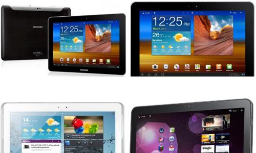 Les réparations  Samsung Galaxy Tab 1 - 10.1