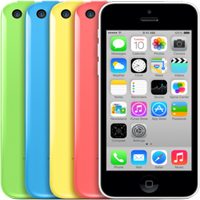Réparations iPhone 5C (A1456/A1507/A1516/A1529/A1532)