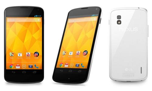 Les réparations  LG Nexus 4