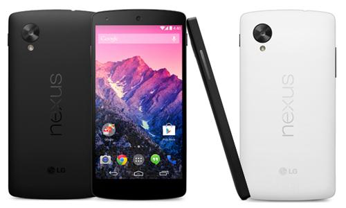 Les réparations  LG Nexus 5