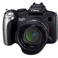 Les r&eacute;parations  Canon Powershot SX IS <i>(Compact)</i>