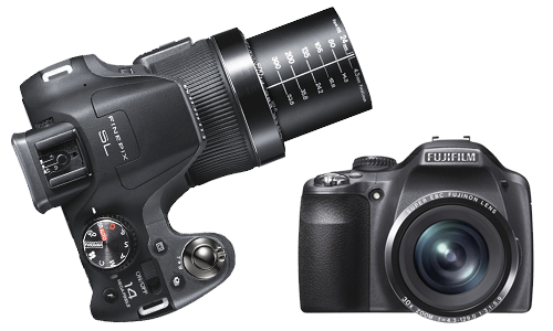 Les r&eacute;parations  Fujifilm Finepix SL <i>(Bridge)</i>