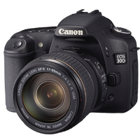 Les r&eacute;parations  Canon Eos série 40D - 60D - 70D - 80D  <i>(Reflex)</i>