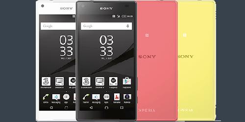 Les réparations  Sony Xperia Z5 Compact