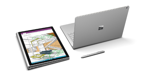 Les réparations  Microsoft Surface Book