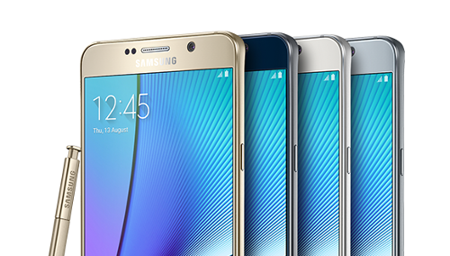 Les réparations  Samsung Galaxy Note 5 N920F